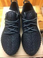 Wholesale Sports Footwear Brands - Original Fashion Kanye West shoes 350 Brand Mens 350 Boost Footwear Sneakers Kanye West 350 Boost milan Sport Sneakers Free Shipping