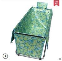 Wholesale size130 cm simple folding bathtub free inflatable bath tub handmade bath barrel adult thicker bath bucket