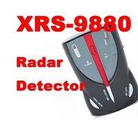 Wholesale XRS9880 COBRA Degree Detection brand Laser Radar Detector Voice Alert Car Speed Alarm System
