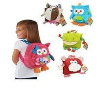 baby food brands - Baby Food bag Storage Box Styles Brand Children Backpack Bag Kindergarten Girls Boys Cute Cartoon Toys Plush Bags