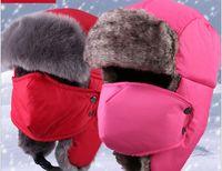 Wholesale Hat man Lei Feng hat female Korean tide hat helmet WINTER CYCLING thickened windproof warm mask Hat old man