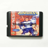 Wholesale DC MD SS SEGA Memery Cards The Punisher bit MD Game Card For Sega Mega Drive For Genesis