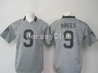 authentic saints jersey - Best Limite Newest Cheap Saints Drew Brees Grey NEP Gridiron Gray Men s America Football Jerseys Authentic Uniforms Sweatshirts