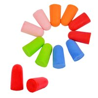 Wholesale Soft Foam Ear Plugs Tapered Sleep Noise Prevention Earplugs Reduction For Travel Pairs