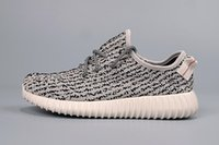 Wholesale Adidas Original Kanye West Yeezy Boost Moonrock Kanye Shoes Pirate Black Yeezy Boost Turtle Dove Grey Yeezy With Box