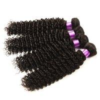 beach machine - deep wave hair A Brazilian Virgin Hair Deep Curly Extensions Weave Bundles Brazilian virgin Human hair Deep Curly Beach waves Hair