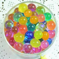 Wholesale Colorful Crystal Mud Soil Water Beads For Flower Plant Crystal Balls Mixed color water bead HY841