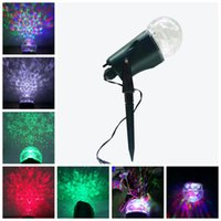 Wholesale New Arrive LED Projection Lights Kaleidoscope Waterproof Light Show Modes Outdoor Christmas Spotlight Indoor