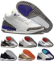Wholesale Mens Retro Basketball Shoes Sports Replicas Original Men Sneakers Cheap Fashion dan Retro s III Man