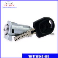 auto door lock cylinder - Hot Sale Auto Practice Lock for vw polo front door lock cylinder Volkswagen Car Locksmith Tools professional Locksmith Supplies