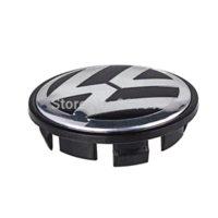 Wholesale Original quality mm VW Jetta Golf Volkswagen Emblem full chromed Wheel Hub Center Caps Covers