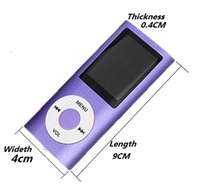 mp4 player - MP4 MP3 Player Inch LCD FM Radio Good servise High Quality good servise attery Player for Free dhl shipping