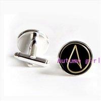 atom symbols - J Atheist Symbol Atheist Atom Symbol Cuff links atheist cufflinks atheist tie bar Wedding Gifts Father s day Gift personalized cuf