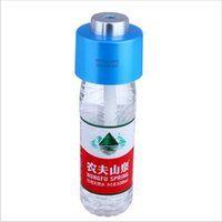 Wholesale Portable V USB Bottle Caps mini Humidifier ABS Mist Steam Maker cap usb mist maker car humidifier usb diffuser
