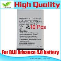advance mobile - 10pc Good testing Full Power Safe High Quality mAh Mobile Phone Battery For BLU Advance C745043160T battery