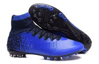 Wholesale Cr7 Cleat Box - Wholesale 2016 Football Boots Superfly FG CR7 Soccer Shoes Men Soccer Cleats Laser Soccer Boots Fashionable Original Soccer Shiped with box