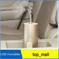 Wholesale 1PCS Nanum Car Plug Air Humidifier Purifier Vehicular essential oil ultrasonic humidifier Aroma mist car fragrance Diffuser