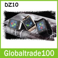 apple compatible lots - 2016 NEW Latest Smartwatch DZ10 Bluetooth Smart Watch With SIM Card Apple Samsung IOS Free DHL Shipping