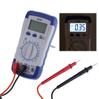 Wholesale A830L LCD Digital Multimeter Voltmeter Ammeter DC AC Voltage Diode Freguency Multitester