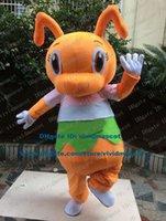 big headed ants - Sagacity Orange Ant Pismire Cricket Grig Mascot Costume Cartoon Character Mascotte Adult Big Head Brown Eyes NO Free Ship