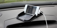 Wholesale 2016 New Car use black Sticky Pad Mat Anti Non Slip Gadgets Mobile Phone GPS Holder Interior Items Accessories