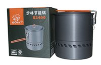 Others outdoor heat exchanger - Bulin L Camping Water Pot Outdoor Kettle Heat Exchanger Pot S2400