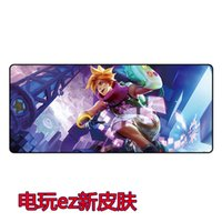 Wholesale League of legends computer mouse pad Mouses gaming mice pad Creeper Face gaming mouse pad Rectangular Mousepad gift