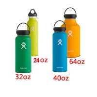 bags international - Hydro Flask Vacuum Insulated Stainless Steel Water Bottle Wide Mouth w Flex Cap