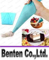 Wholesale NEW Silicone Reusable Cream Pastry Icing Bag Piping Bag Cake Decorating Tool LLFA