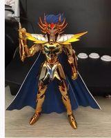 Wholesale Galactic Nebula cancer deathmask death mask glod Myth Cloth Ex PVC action figure Saint Seiya model toy