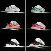 Wholesale Free Ship Cheap Famous Air Huarache Run Ultra Girl Boy Kids Children s Running Athletic Sneakers Shoes Athletic Baby Cheap Shoes Size