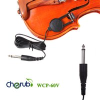 Wholesale Cherub WCP V Clip on Pickup Pick up for Violin with quot Jack M Cable Compact Professional