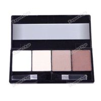 Wholesale LilacLine New Fashion Color Pro Contour Face Powder Cosmetic Makeup Palette Set hours dispatch