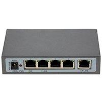 al por mayor interruptor de alimentación de red-1 + 4 puertos IEEE 802.3af 10 / 100Mbps Switch PoE Power Over Ethernet Para Cámara de red IP del conmutador telefónico de VoIP Interruptor AP Dispositivos de red