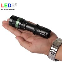Wholesale Cree led bike torch lumen bicycle flashlight zoomable bicycle torch aaa battery torch bike light