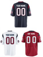 Wholesale embroidery Rugby elite games Texans jerseys mens womens kids any name and number HOPKINS jerseys
