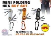 allen key bits - 2016 SEDY mini Folding Torx Hex Key Set Allen Keys Metric Tool Pocket Bits