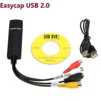 Wholesale USB2 Video Capture Card composite Channel Usb CCTV Window Linux PC New Arrival captura de video dvr card
