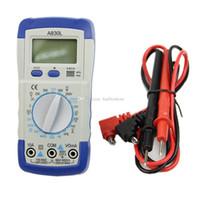 Wholesale A830L Handheld Digital Multimeter Ammeter Voltmeter Megohmmeter Ohmmeter B00229 OST