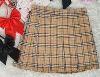 high school uniforms - 2016 Skirts Women HOT SALE Preppy Style Japanese School Uniform Plaid High Waist Short Pleated Tartan Skirts