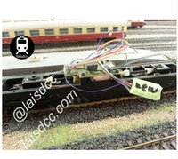 Wholesale NEM652 DCC LOCO DECODER FOR HO N SCALE MODEL TRAIN laisdcc