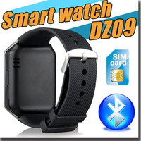 Wholesale 2016 Bluetooth Smart Wrist Watch Phone GSM SIM Card For Apple Samsung IOS Android Cell phone inch with retail box