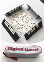 Wholesale Travelling Version Classic Board Game Original Digital Game Israel Mahjong Rummikub The Fast Moving Rummy Tile Family Game toy