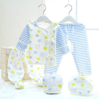 affordable fashion clothing - Newborn infant briefs underwear Wujiantao clothes made of pure cotton material soft and comfortable affordable vivid pattern
