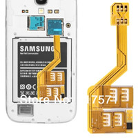 Wholesale 2014 Newest Multi SIM Card Adapter for Samsung Galaxy S i9600 S4 i9500 S3 i9300 Note3 N9000 Note2 N7100 Mega i9200