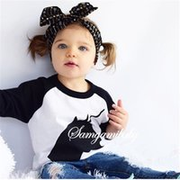 animal tracks kids - 2016 Denim Sets For Girls Cartoon Print Animals T Shirts Jeans Pants Trousers PC Track Suits Baby Kids Boutique Outfits