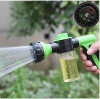 Wholesale Bubble Gun Garden Water Gun Garden Watering The Flowers Brush Car Pet Shower Sprinkler Spray Nozzle Spray Gun Water Nozzle