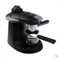 aluminum types commercial - Household commercial full semi automatic steam type brewed coffee maker
