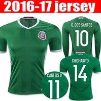 Wholesale Wholesalers Mexico soccer Jerseys CHICHARITO camiseta de futbol G DOS SANTOS O PERALTA JIMENEZ R MARQUEZ football shirts
