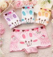 Wholesale Underwear manufacturers baby girls cotton boxer underwear briefs